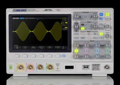 OSCILLOSCOPE CPGE GAMME SDS2000X SPO (4 VOIES 200MHz)